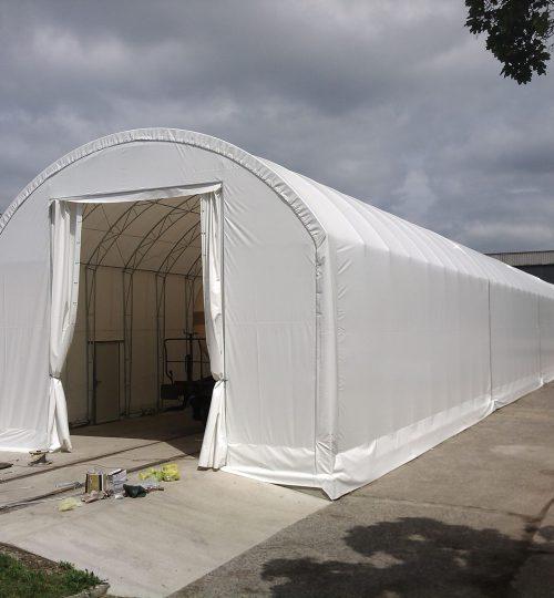 hale namiotowe łukowe